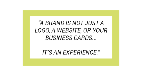brand+experience+quote